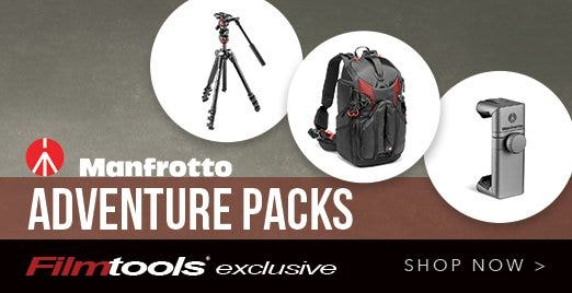 Filmtools Manfrotto Adventure Pack