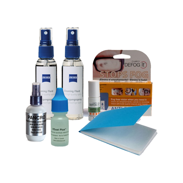 Lens Cleaning Solutions & Sprays