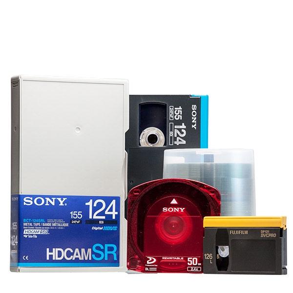 Media & Optical Discs