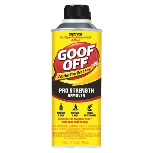 Goof Off Professional Strength Remover Can - 16 oz (Ground Only)