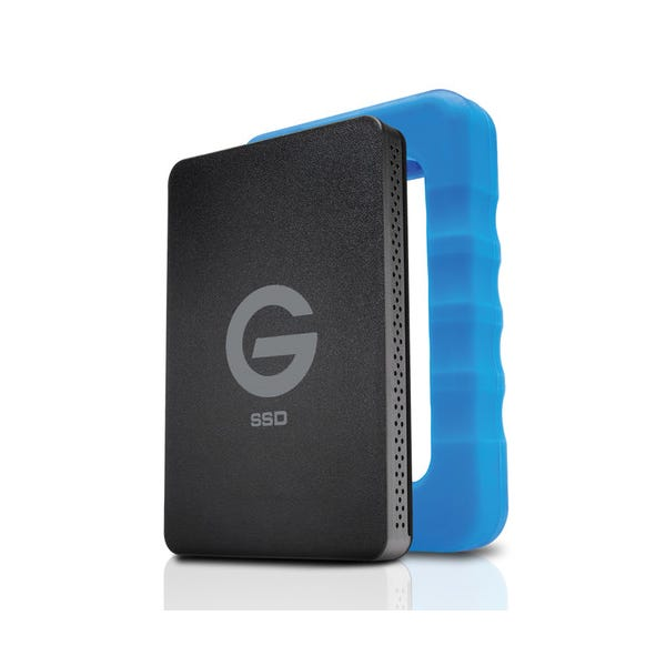 G-Technology 2TB G-DRIVE ev RaW USB 3.0 SSD with Rugged Bumper