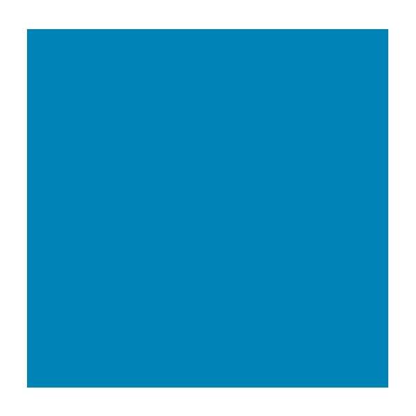 """Rosco Roscolux 69 20 x 24"""" Roll - Brilliant Blue"""