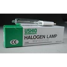 Ushio EHC/EHB JCV120V-500WCM Halogen Incandescent Projector Light Bulb (500W/120V)