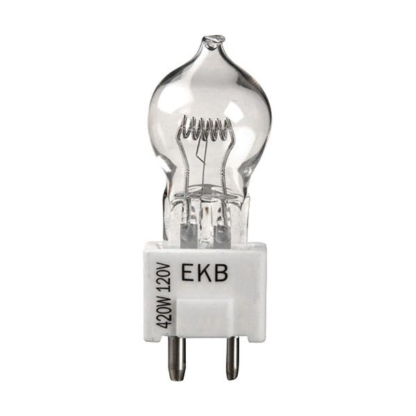 Ushio EKB JCD120V-420WC Halogen Incandescent Projector Light Bulb 3200K (420W/120V)