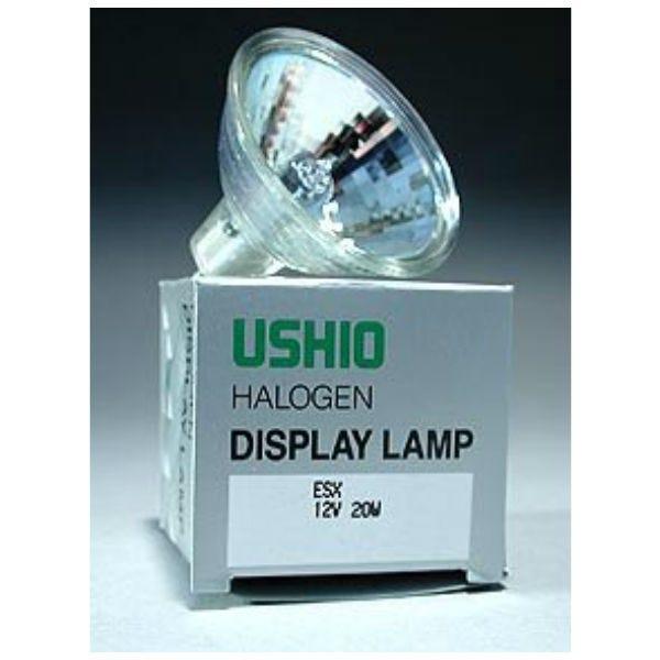Ushio ESX JR12V-20W/SP12 Halogen Incandescent Projector Light Bulb (20W/12V)