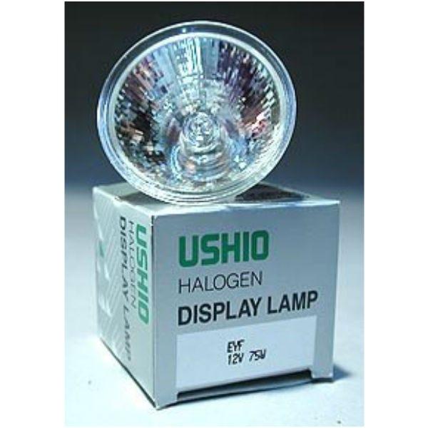 Ushio EYF JR12V-75W/SP12 Halogen Incandescent Projector Light Bulb (75W/12V)