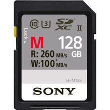 Sony 128GB M Series UHS-II SDXC Memory Card (U3)
