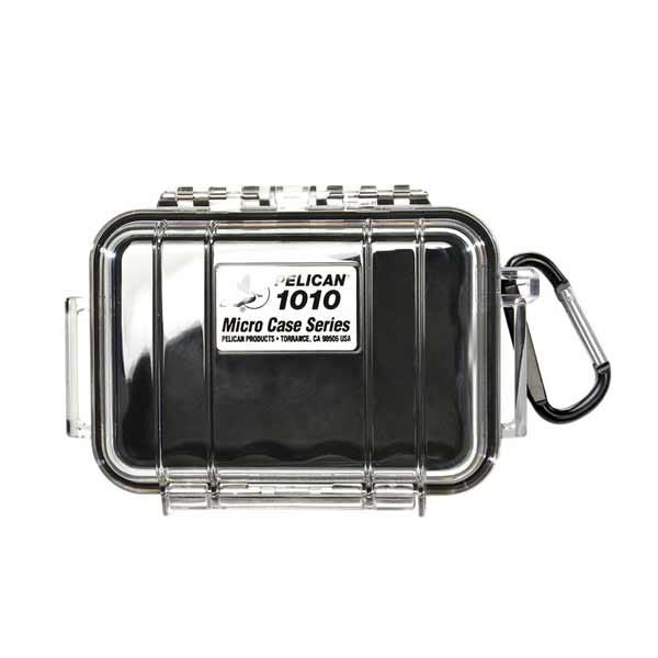 Pelican 1010 Micro Case - Clear/Black