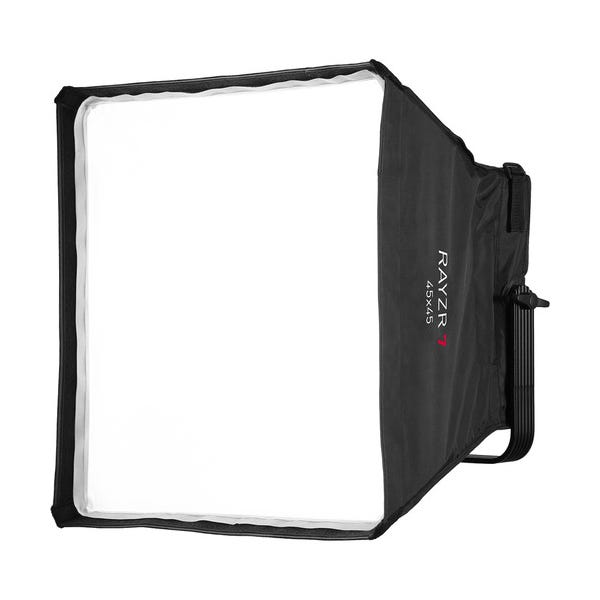 Rayzr 7 R7-45 Softbox Kit with Grid for Rayzr 7 Without Bracket - 17.7 x 17.7""