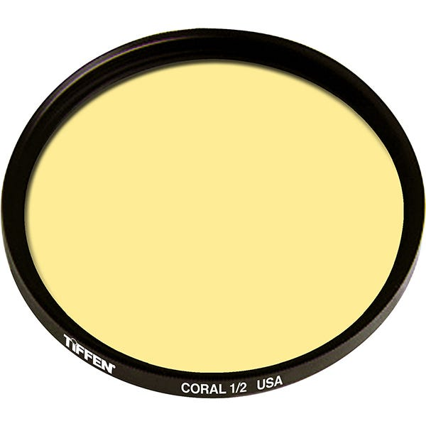 Tiffen  Series 9 Coral Solid Color 1/2 Filter