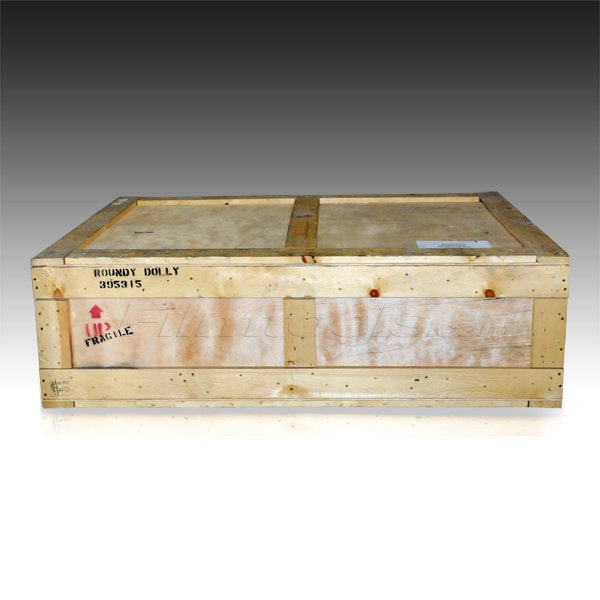 Matthews Studio Equipment Crate for Round-D-Round Dolly