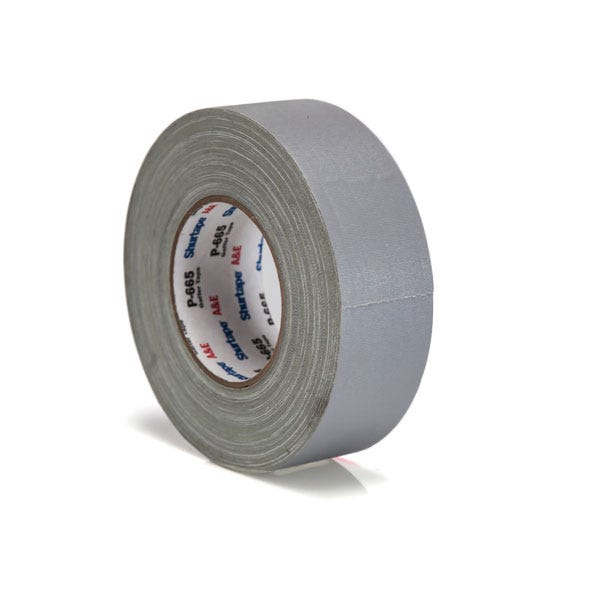 "Shurtape 672 Cold Weather 2"" Gaffer Tape – Grey"
