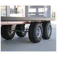 """Filmtools 5/8"""" Twin Axle Kit w/ 10"""" Wheels for Filmtools & Magliner Carts"""