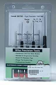 Wiha Precision 6 Piece Torx Set #26790