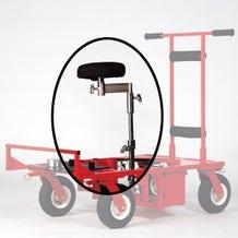Matthews Studio Equipment ED Dolly Seat, Offset Arm & Riser 395310