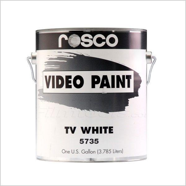 Rosco White Tv Paint 1 Gallon Ground Only Mfr 150057350128 Filmtools
