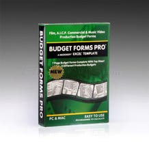 Budget Forms Pro - A Microsoft Excel Template