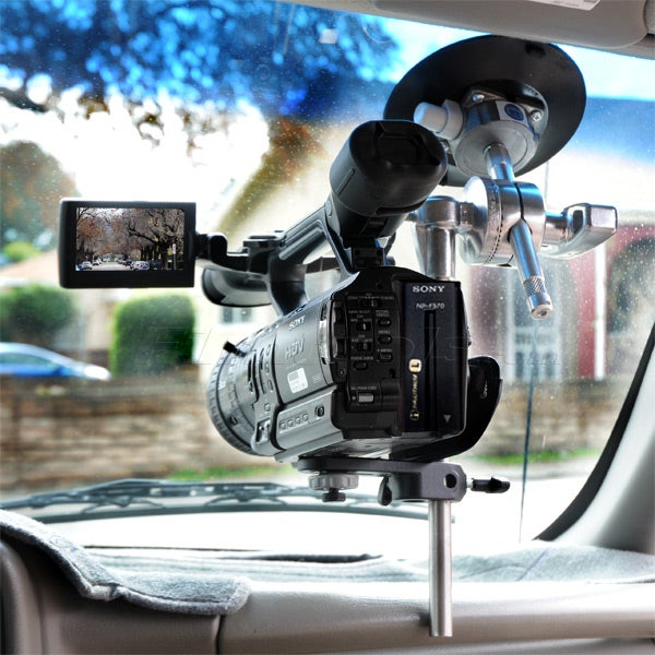 "Gripper 116 XL - The Filmtools XL In-Car Windshield Camera Mount w/ 12"" Rod"