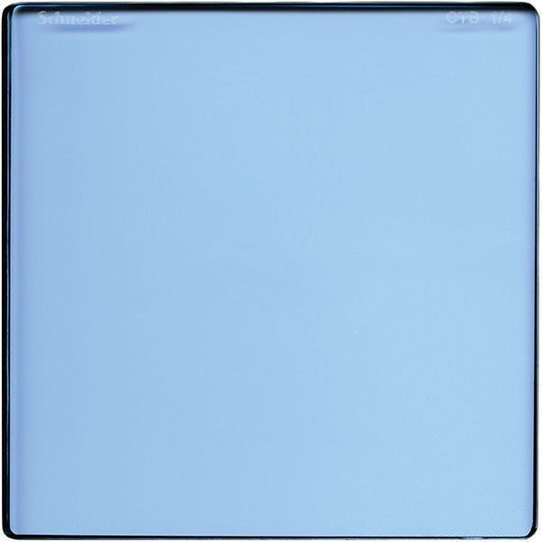 "Schneider Optics 4 x 4"" Color Temperature Blue 1/4 Filter"