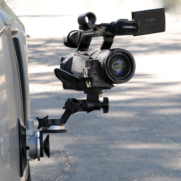 """Gripper 3025-RA - The Filmtools Right Angle 6"""" Suction / Vacuum Cup Camera Mount"""