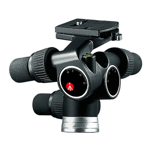 Manfrotto Pro Digital Geared Head w/ RC4 Rapid Connect Plate (410Pl) 405