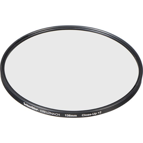 Schneider Optics 138mm Water White +2 Full Field Diopter Lens (Close-up Filter)