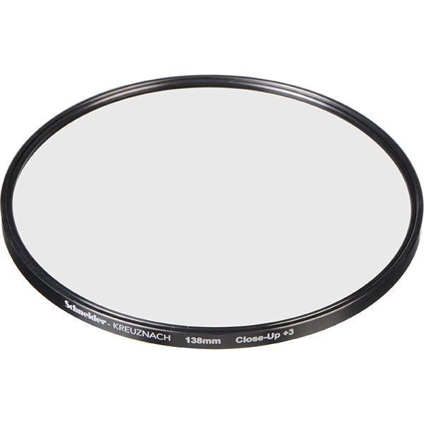 Schneider Optics 138mm Water White +3 Full Field Diopter Lens (Close-up Filter)