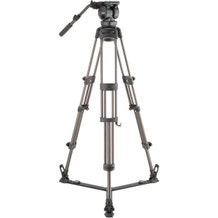 Libec 2-Stage Aluminum Tripod System with Floor-Level Spreader
