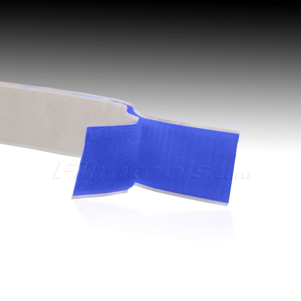 "1"" Adhesive Backed Hook and Loop - Blue R1006L - R1006H"