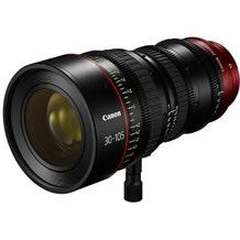 Canon PL-Mount CN-E 30-105mm f/2.8 L SP/MOD Digital Cinema Zoom Lens with EF-Mount Conversion Parts