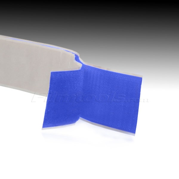 "2"" Adhesive Backed Hook and Loop - Blue R2006L - R2006H"