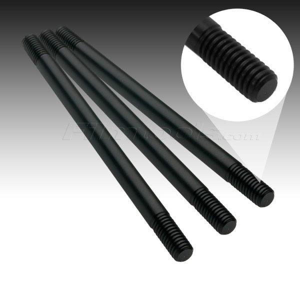 """Filmtools Teenie Weenie 3/8""""x 6"""" Solid Aluminum Black Rod"""