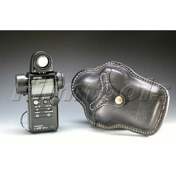 Custom Leather Light Meter Holster for Sekonic 558
