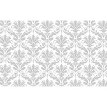 """Savage Printed Background Paper (53"""" x 18', Gray Floral)"""