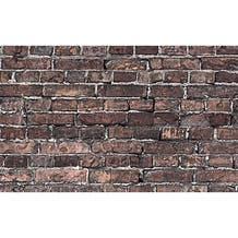 "Savage Printed Background Paper (53"" x 18', Grunge Brick)"