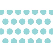 "Savage Printed Background Paper (53"" x 18', Aqua Polka Dots)"