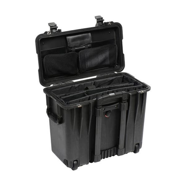 Pelican 1447 Top Loader 1440 Case with Office Divider - Black