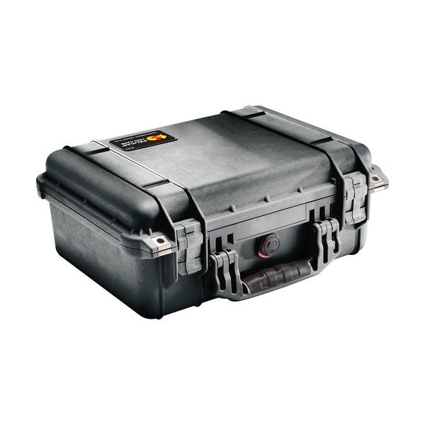 Pelican 1450 Case without Foam - Black