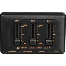 Azden CAM-3 3-Channel Audio Mixer