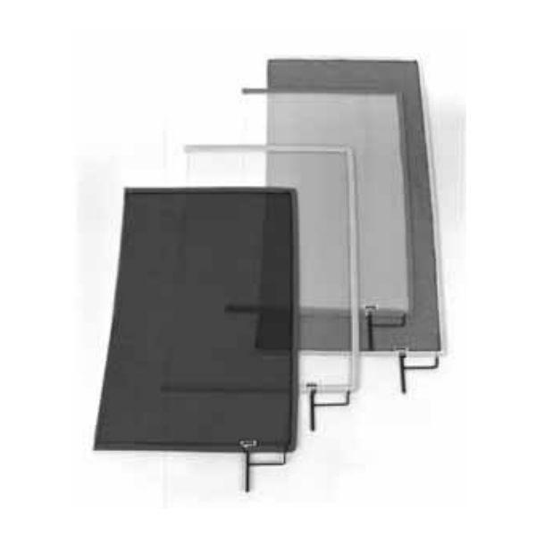 """Matthews Studio Equipment 18"""" x 24"""" Double Open-End Scrim - Black 149061"""