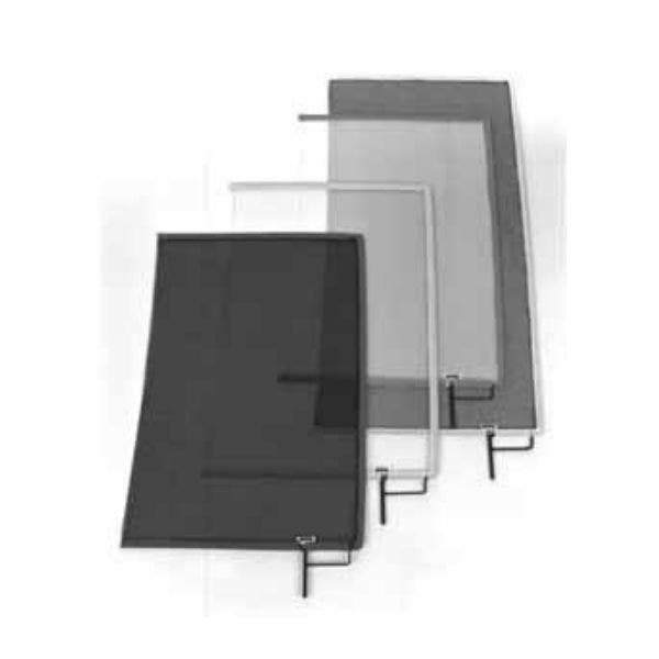 """Matthews Studio Equipment 30"""" x 36"""" Single Open-End Scrim Black 149020"""