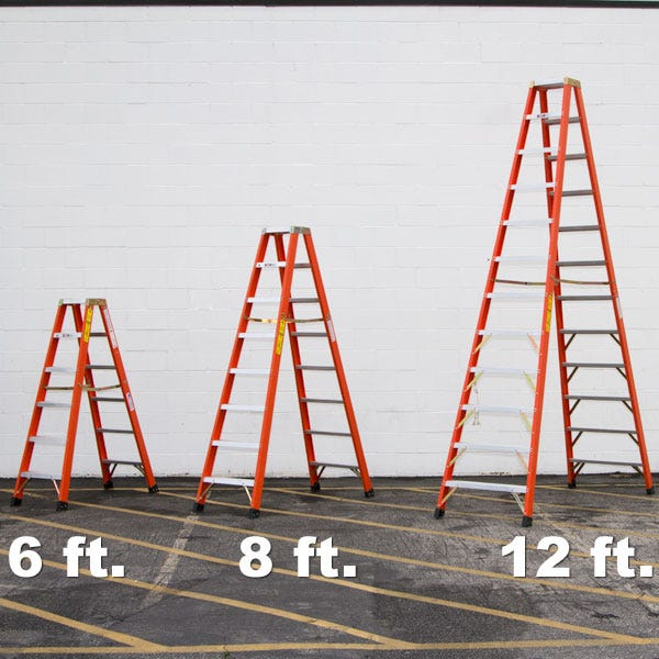 Sunset 6' Double Sided Ladder - FD1A06