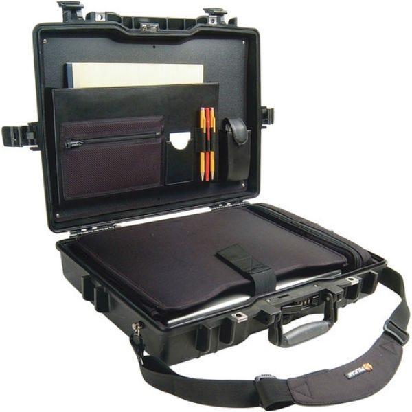 Pelican 1495CC1 Deluxe Notebook/Laptop Computer Protector Case - Black