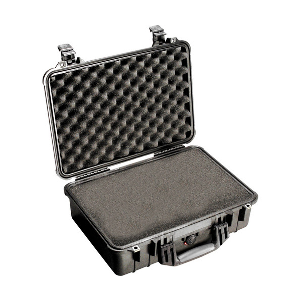 Pelican 1500 Case with Foam - Black