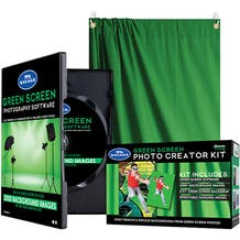 Savage Green Screen Photo Creator Kit with Digital Software