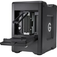 G-Technology G-SPEED Shuttle 20TB 4-Bay Thunderbolt 3 RAID Array with Two ev Bay Adapters
