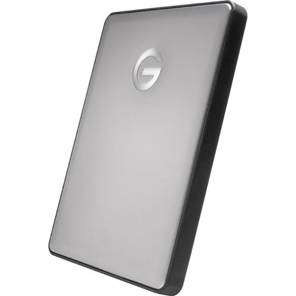 G-Technology G-DRIVE Mobile USB-C Portable 1TB Hard Drive - Space Gray