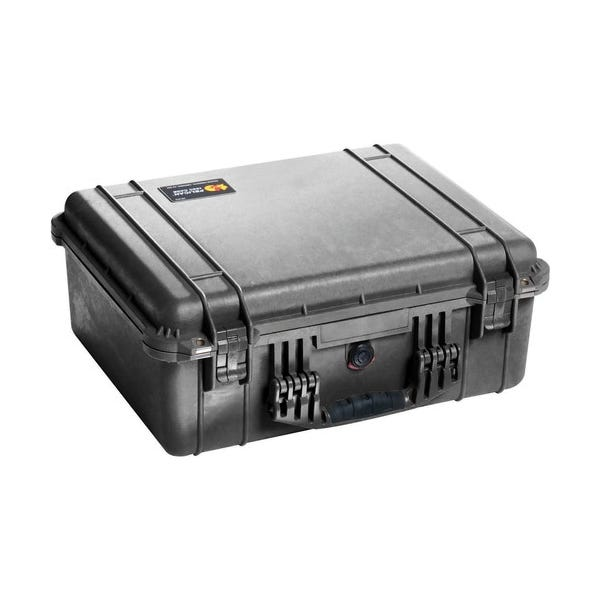 Pelican 1554 Waterproof 1550 Case with Dividers - Black