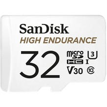 SanDisk 32GB High Endurance UHS-I microSDHC Memory Card with SD Adapter