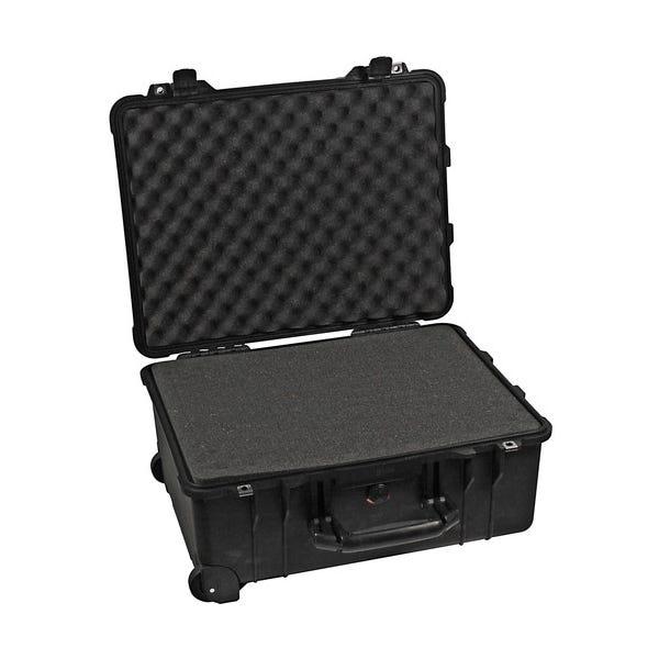 Pelican 1560 Case with Foam - Black